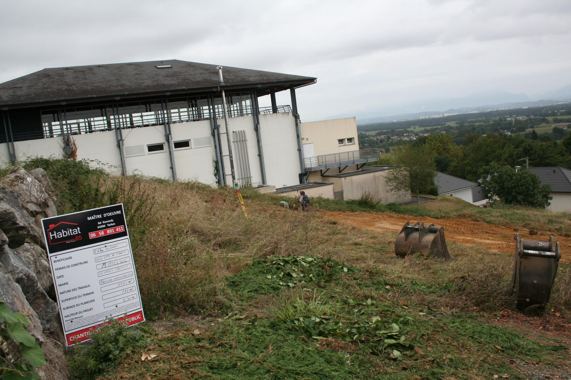 Habitat 65 neuf construction de 2 maisons individuelles for Neuf construction